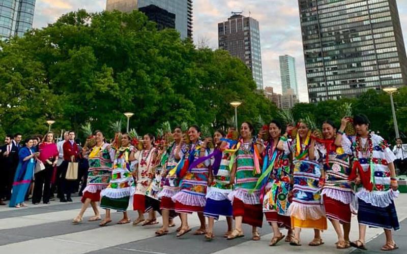 Orgullo oaxaqueño presente en la ONU | El Imparcial de Oaxaca