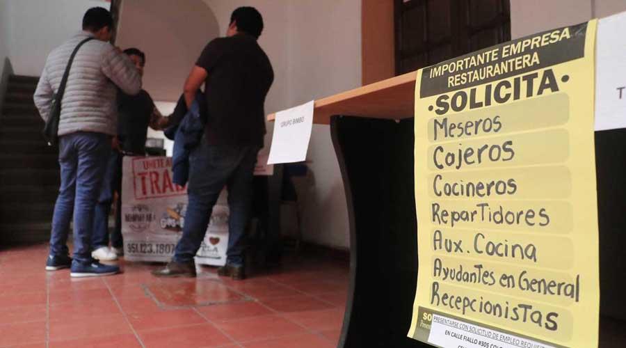 Se pierden cinco mil empleos en Oaxaca en segundo trimestre | El Imparcial de Oaxaca
