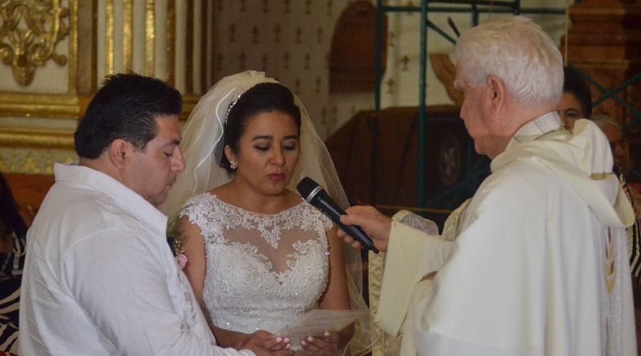 Eunice y Héctor  se unieron en matrimonio