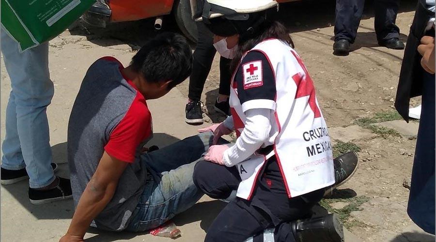 Lo arrollan en el Rosario con auto de lujo | El Imparcial de Oaxaca