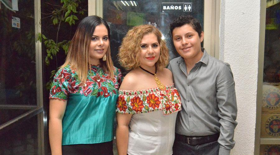 El club Rotario Oaxaca organizaró una cena para conmemorar la Independencia de México