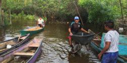 Se cierra Boca Barra que une a la Laguna Alotengo con el mar