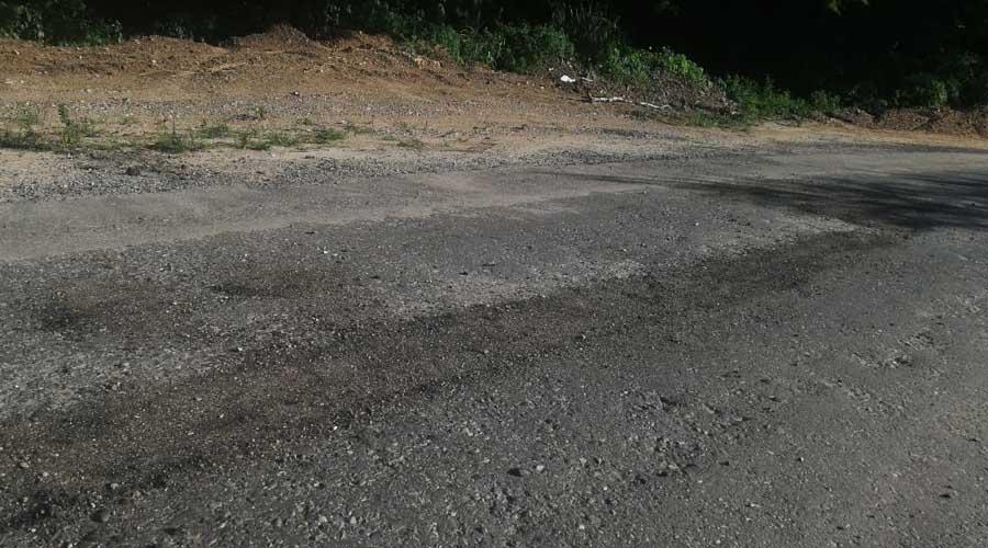 Exigen a SCT obra de calidad en Pochutla
