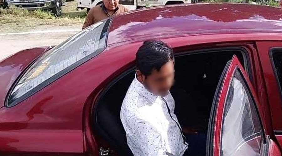 Arrestan a un funcionario federal por golpear a mujer en Tlaxiaco