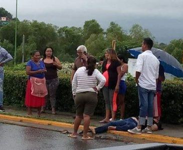 Atropellan a mujer en Tehuantepec