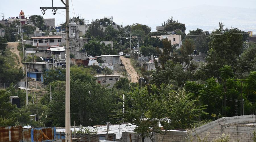 Invasión de terrenos desborda mancha urbana en Oaxaca