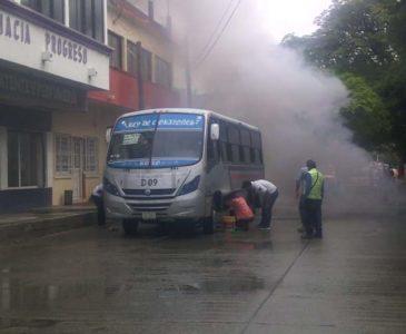 Falla mecánica de autobús casi provoca una tragedia en el Istmo