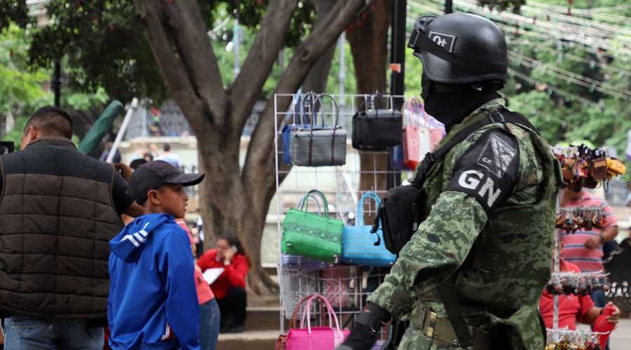 Con la Guardia Nacional, violencia crece en Oaxaca