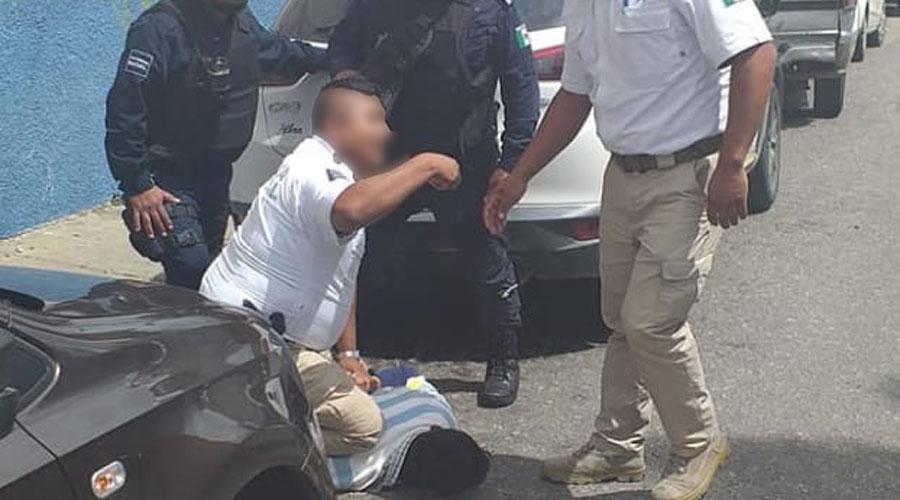 Atrapado tratando de abrir un auto | El Imparcial de Oaxaca
