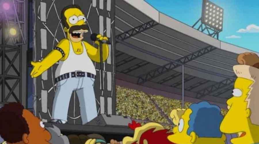 Los Simpson le harán un homenaje a Freddie Mercury | El Imparcial de Oaxaca