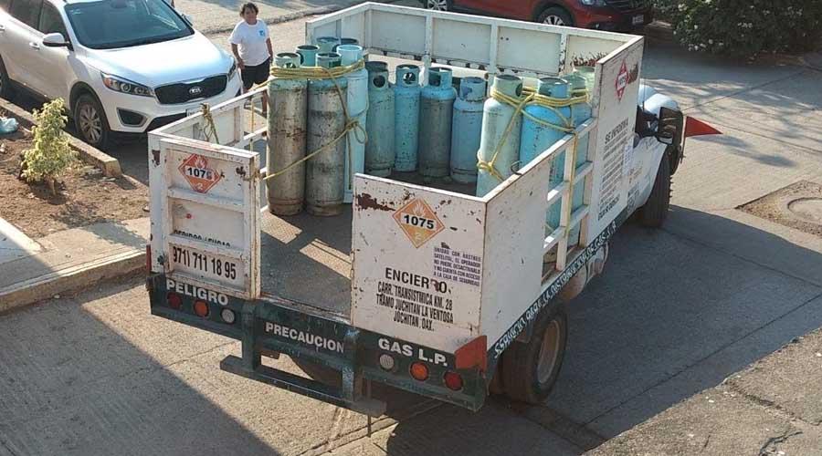 Otro atraco, nuevamente a un camión de gas de El Trópico en el Istmo   El Imparcial de Oaxaca