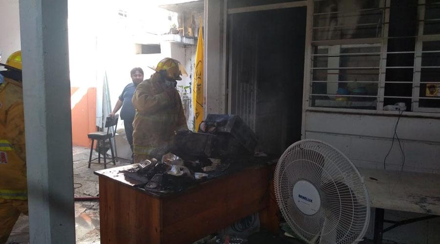 Se quema oficina de la 'Alianza Simona Robles'