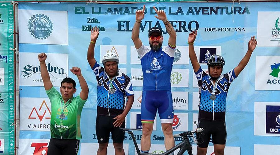 """Teodocio Hernández conquista """"El Viajero"""""""