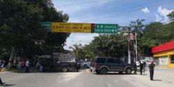 La Codedi bloquea carreteras en la Costa