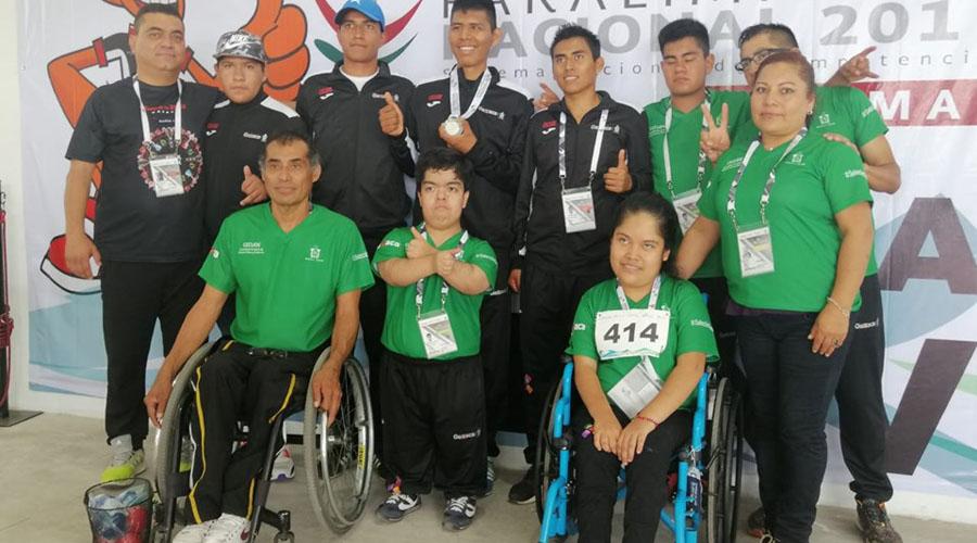 Tercera medalla para Oaxaca en Paralimpiada Nacional