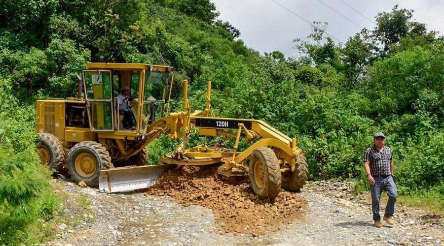 Dañados el 60 por ciento de los caminos en Itundujia