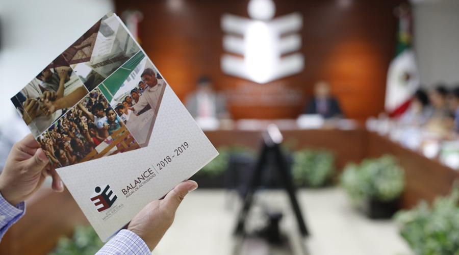 Presenta IEEPCO balance de actividades 2018-2019   El Imparcial de Oaxaca
