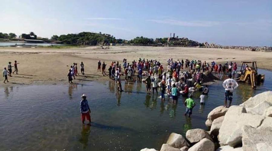 Pescadores abrirán la Barra de Corralero