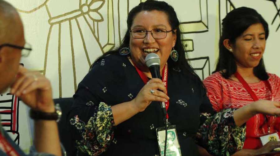El español es ya un filtro: Yásnaya Aguilar