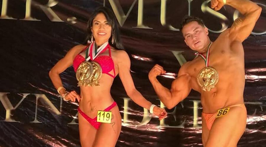 Mostraron el músculo