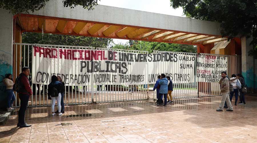 Sindicatos de la UABJO demandan más recursos   El Imparcial de Oaxaca