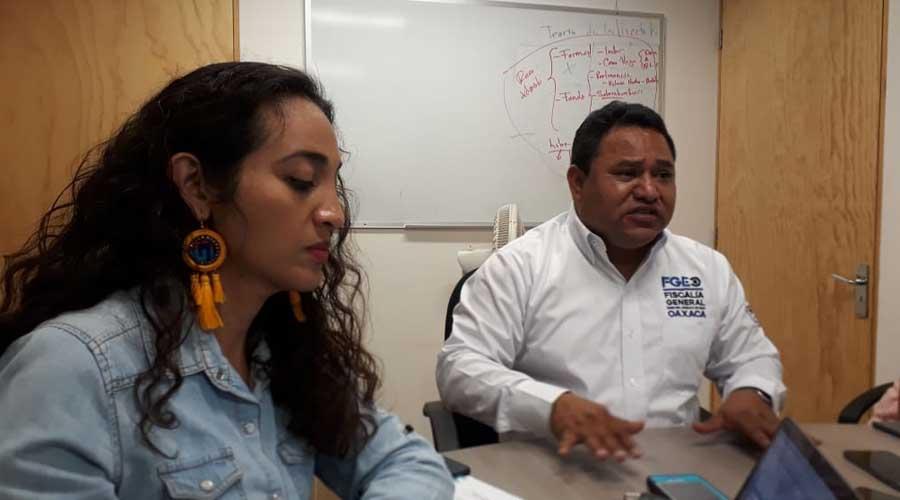 Busca la Fiscalía General acercamiento con Huajuapan de León