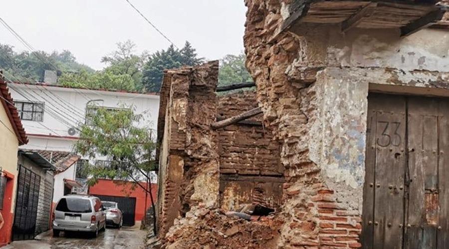 Lenta, la reconstrucción de viviendas en Tehuantepec