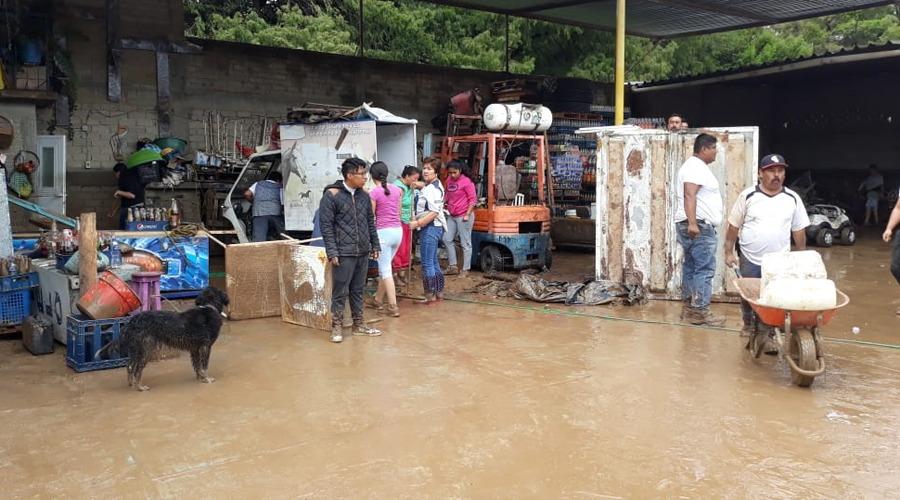 Piden declaratoria de emergencia por Narda en la Mixteca