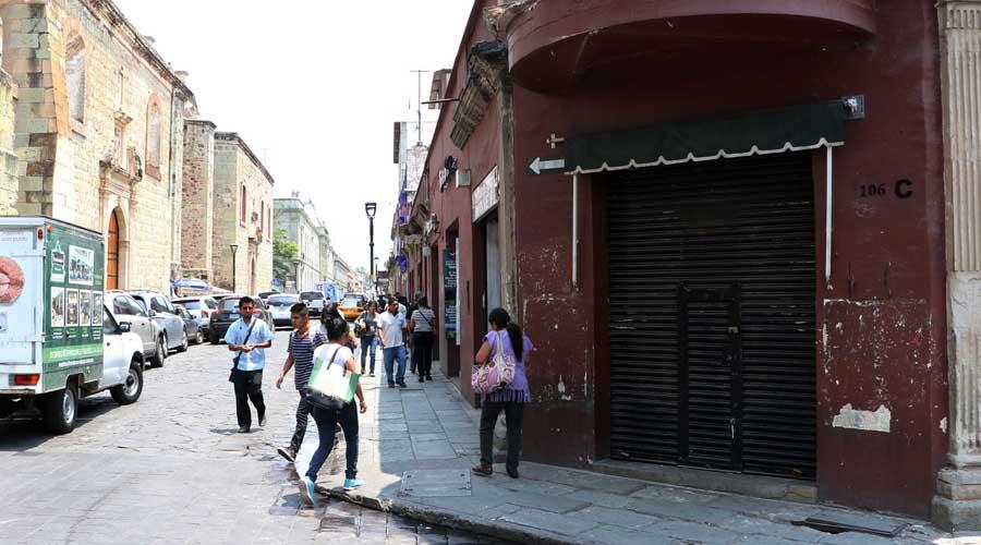 Sin ingresos, en riesgo comercio en pequeño en la capital oaxaqueña