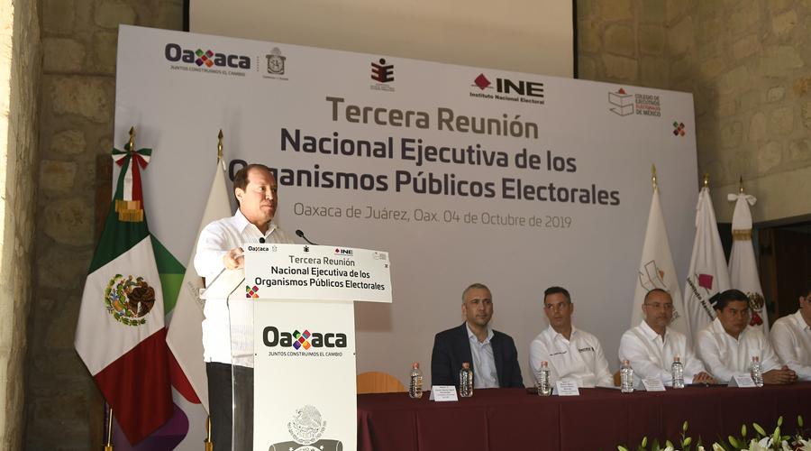 Rechaza INE desaparición de órganos locales   El Imparcial de Oaxaca