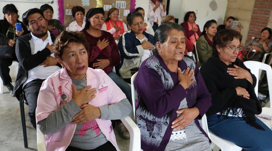 Ayudan a mujeres con cáncer a sanar desde el interior