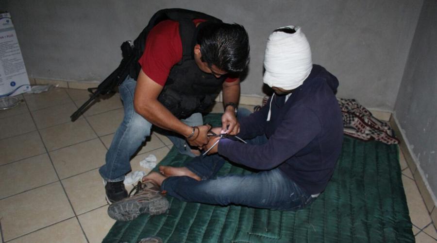 En operativo, rescatan a sujeto secuestrado en la Mixteca