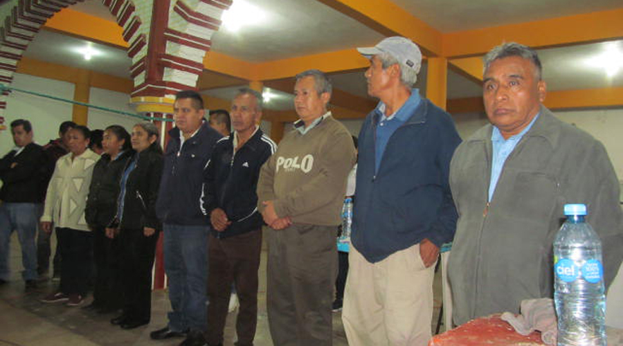San Mateo Yoloxochitlán nombra a su nuevo Ayuntamiento 20-22 | El Imparcial de Oaxaca