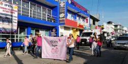 Buscan concientizar sobre cáncer de mama