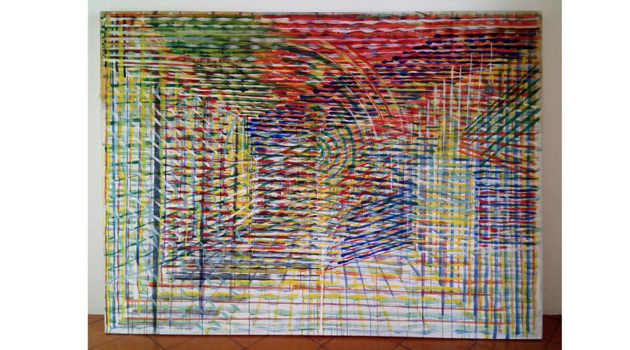 Roberto Rébora muestra las rupturas de su obra