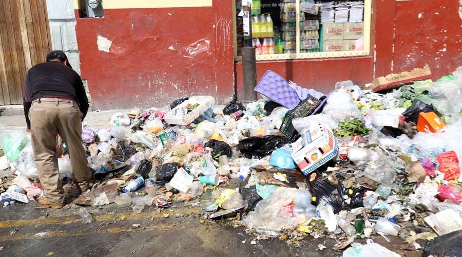Persiste el atraso en el reciclaje de basura en Oaxaca de Juárez