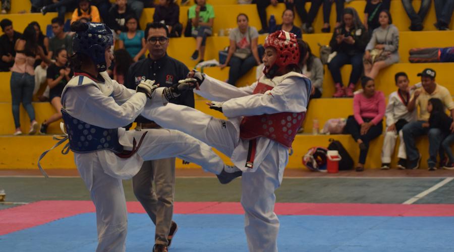 Definida la selección estatal de taekwondo
