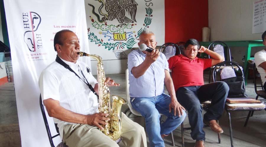 Buscan recuperar la música de difuntos en la Mixteca