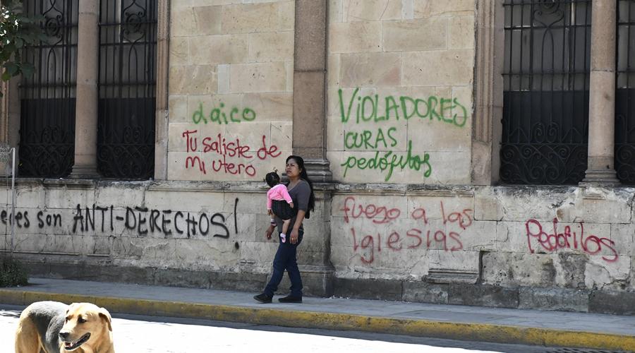 Marchas dañan el patrimonio histórico de la Verde Antequera