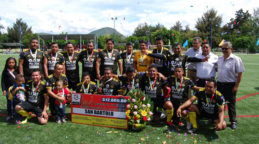 San Bartolo es el campeón
