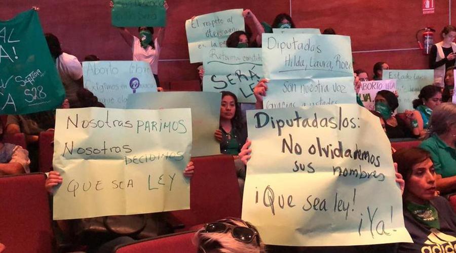 Proponen amnistía para quienes cometieron el delito de aborto en Oaxaca | El Imparcial de Oaxaca
