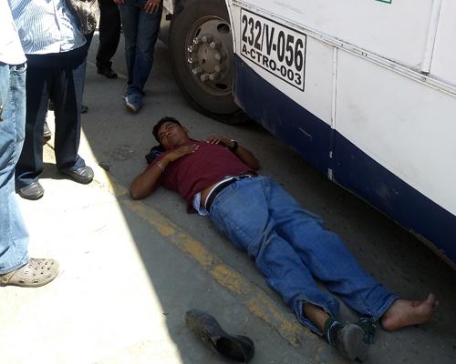 Atropellado por un conductor de Sertexa | El Imparcial de Oaxaca