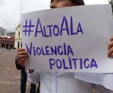 Piden contrarrestar con protocolo violencia política contra mujeres