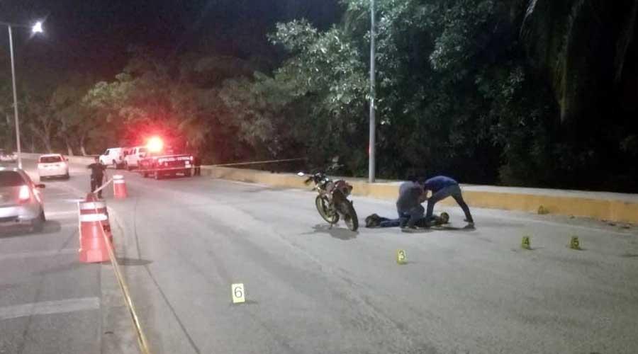 Lo acribillan en su moto en Puerto Escondido   El Imparcial de Oaxaca