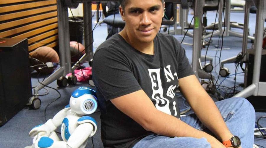 Estudiante del Instituto Politécnico Nacional replica movimientos humanos en un robot | El Imparcial de Oaxaca