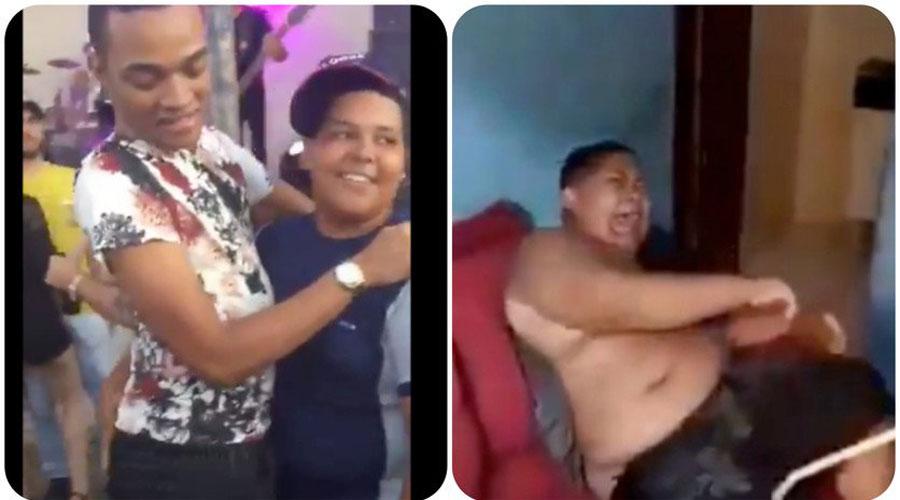 Video: Padre propina golpiza a su hijo por bailar con otro hombre | El Imparcial de Oaxaca