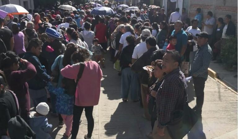 Por disturbios, suspenden asamblea de Morena   El Imparcial de Oaxaca