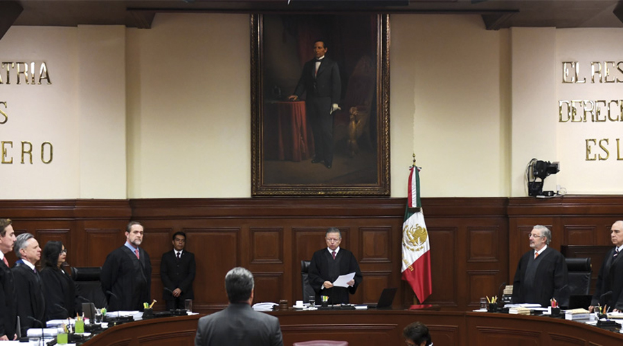 Requiere Suprema Corte de Justicia de ministros apartidistas | El Imparcial de Oaxaca