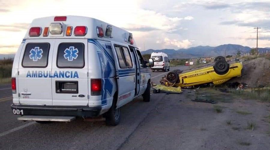 Hombre sobrevive a volcadura en Ejutla   El Imparcial de Oaxaca