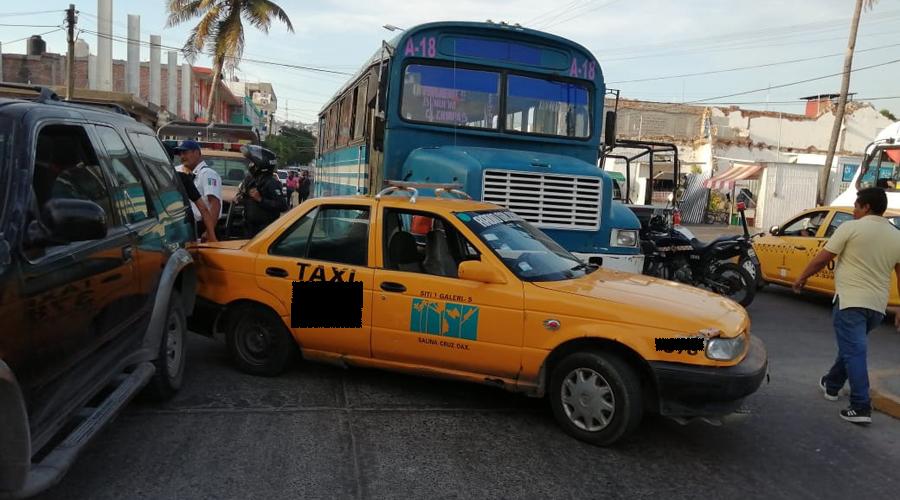 Bajo la lupa, transporte público en Salina Cruz | El Imparcial de Oaxaca